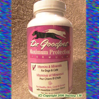 Dr. Goodpet Maximum Protection Vitamins & Minerals Dogs & Cats