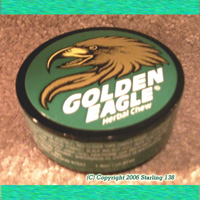 GOLDEN EAGLE Herbal Chew Tobacco free DIP WINTERGREEN