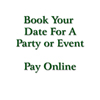 Party / Event Deposit