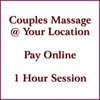 Couples Massage 1 HOUR