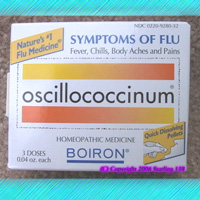 Oscillococcinum homeopathic FLU remedy 3 doses